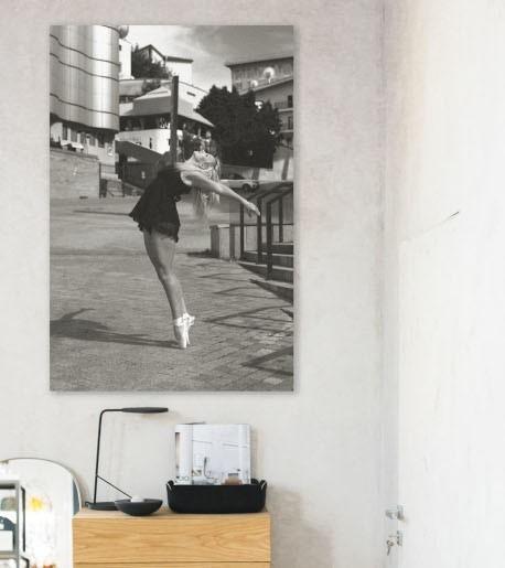 Bild auf Leinwand Quentin Tarantino Film mit Holzrahmen 140 x 50 cm